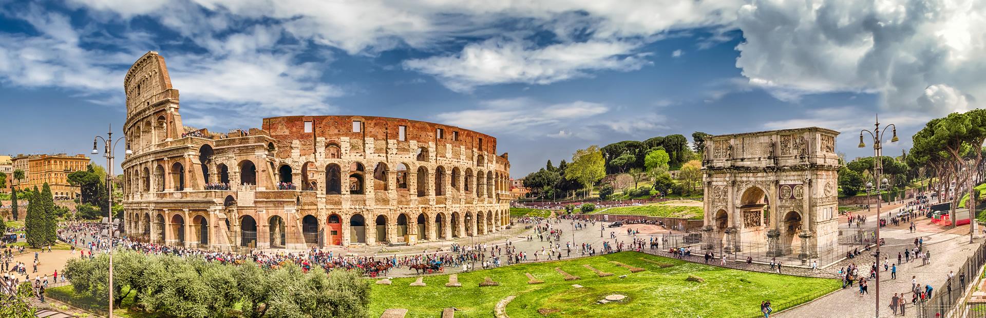 Collosseum in Rome nib International Travel Insurance 247