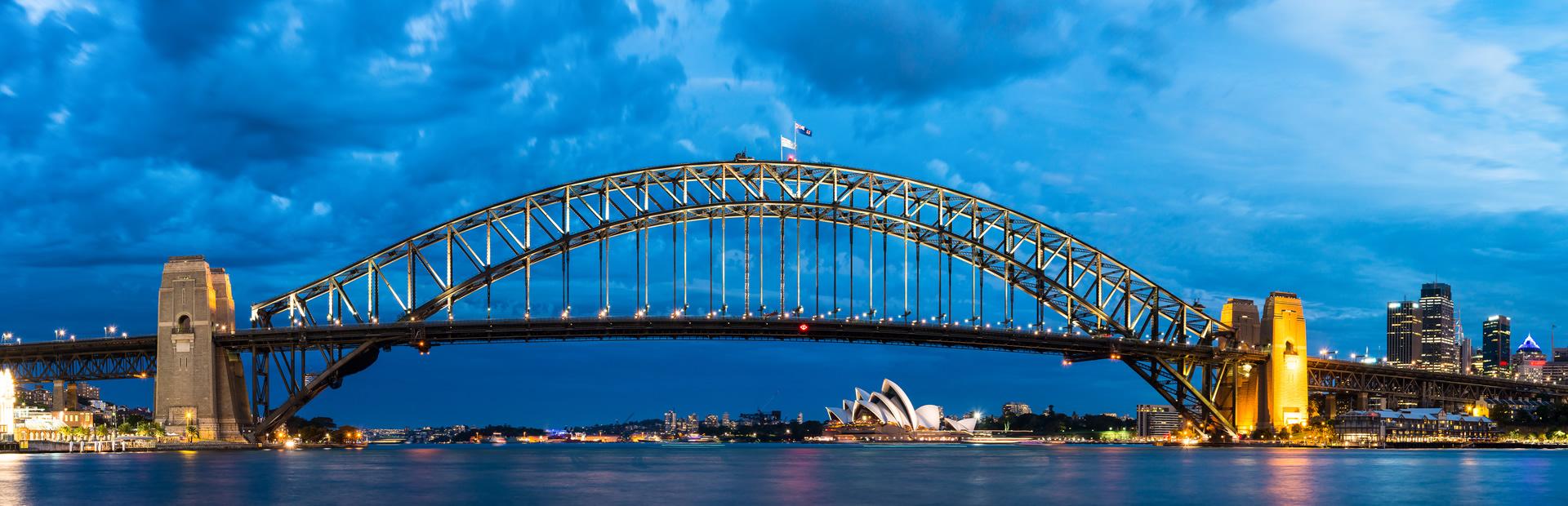 Sydney Harbour Bridge nib Non resident travel insurance 247