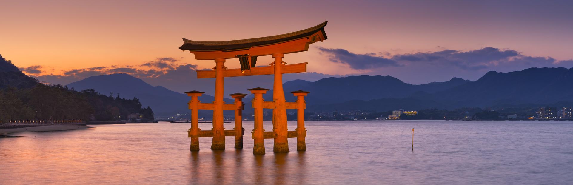 Japanese Shrine at Miyajima